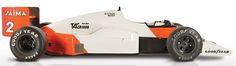 McLaren Heritage MP4/2B 1985