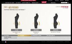 Levis - #webdesign #website #ux