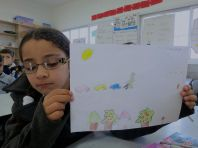 Fatemeh's drawing