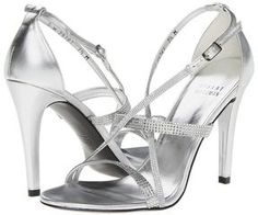 Stuart Weitzman Bridal & Evening Collection - Surreal (Silver Supple Kid) - Footwear on shopstyle.com