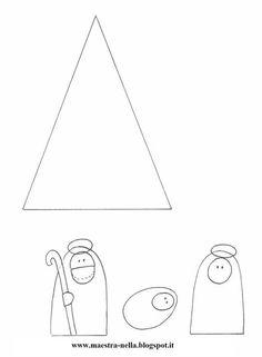 disegni, idee e lavoretti per la scuola dell'infanzia... e non solo Preschool Christmas Crafts, Christmas Activities, Xmas Crafts, Christmas Cards To Make, Christmas Mood, Catholic Crafts, Teacher Books, Sunday School Lessons, Stella