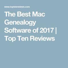 The Best Mac Genealogy Software of 2017 | Top Ten Reviews