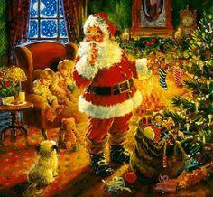 Santa Claus... shhhhh...