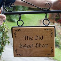 Hanging Wooden House Sign