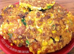 Cheesy Bacon Jalapeno Corn Fritter Recipe | DanielleDIY.com