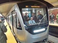 Pregopontocom Tudo: Metrô de Montreal inicia os testes do Trem Azur com passageiros...