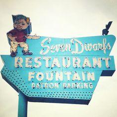 Seven Dwarfs? vintage sign | Flickr - Photo Sharing!