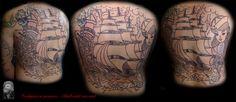 "Backpiece - Traditional in progress, 1. Sitzung ""smile""-Emoticon #tattoorosenheim #tattoochris #forlifecolor #blackandrey #colorink #ink #instatattoo #oldschool #traditional #inprogress #rosenheim #raubling #christattoo #tattooraubling #tattoo #tattoos #tattoolife #tattoolovers #tattooart #tattooed #artistchris #artist #colortattoos"
