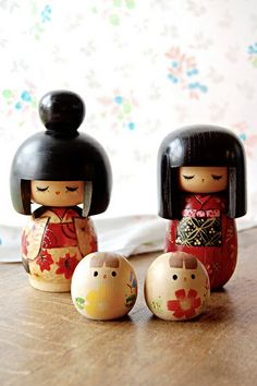 kokeshi dollies - Someone will want these, eh @Charlotte Willner Willner Willner Willner Shirley?? hehe