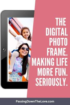 How to Use a Digital Photo Album to Stay Connected to Family. Keep the memories close with this digital frame. Sharing with the older generation just got easier. New Grandma, Grandmother Gifts, Grandpa Gifts, Grandmothers, Electronic Picture Frame, Digital Photo Album, Digital Photo Frame, New Grandparents