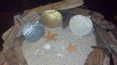 Sand Dollar Ornaments  Beach Decor by CathysCoastCreations on Etsy, $0.75