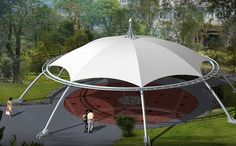 tensile structure dome