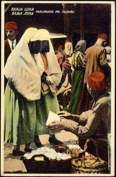 1910s Bosnia and Herzegovina - Muslim Women from Banja Luka