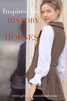 Great Scot tweed inspired by history and horses