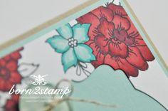 STAMPIN' UP! Karte mit I like you und DSP Pastellfarben und Spruch-reif