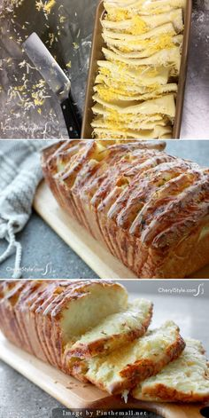 OMG this sounds heavenly Pull apart garlic cheese bread I Love Food, Good Food, Yummy Food, Garlic Cheese, Cheese Bread, Garlic Salt, Great Recipes, Favorite Recipes, Breakfast Desayunos