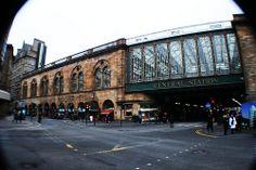 Central Station, Glasgow, Scotland.