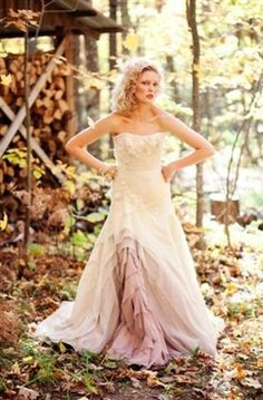Tara LaTour - Ombre is a good choice for a bride who's CLEARLY not a virgin (like me)