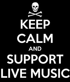 Another brilliant addition to the 'Keep Calm' poster family. #livemusic #keepcalm