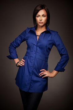 De jour comme de nuit, ce#chemisier#tuniqueest l'atout#chicet féminin de notre garde-robe.