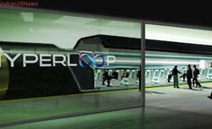 Hyperloop high-speed transport system proposed for 5 Indian routes