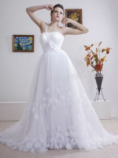Dreamy One-Shoulder Tulle Layer Ball Gown of Corset