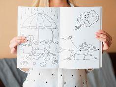 Wally kleurboek voor kinderen peuters en kleuters.   Etsy Etsy