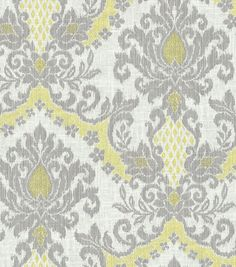 With a name like bedazzle, this print has to be awesome :) @Waverly fabric print: Bedazzle Silver