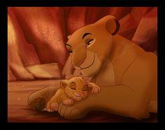 Lion king Sarabi and Simba Simba Y Nala, Roi Lion Simba, Baby Simba, King Simba, Le Roi Lion, The Lion King 1994, Lion King Fan Art, Lion King Baby, Disney Lion King