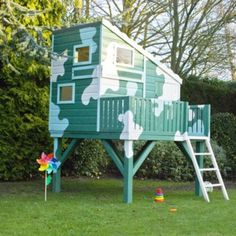 6x4 Command Post Shiplap Wooden Playhouse - Home Delivered, 5397007006452