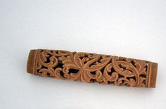 Intricate example of Norwegian woodcarving