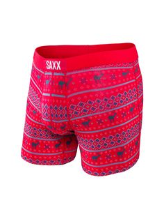 Our newest brand of undergarments bring comfort to every adventure for you men. With tons of colors and designs, consider placing the premium Men's SAXX Vibe Boxer Briefs under the tree. Men's Underwear, Christmas Boxers, Men's Boxer Briefs, Men's Boxers, Under Pants, Bra Shop, Sport Outfits, Mens Fashion, Casual