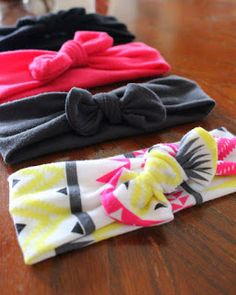 DIY No-Sew Knot Headband