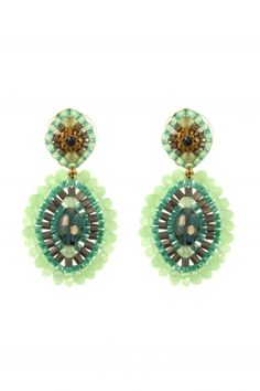 colorful #boho #chic #earrings are the perfect accessory for the glamorous modern woman I NEWONE-SHOP.COM