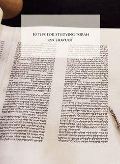 shavuot bible study