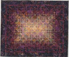 Blooming Nine-Patch in batiks at Noras Room