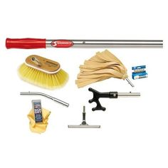 Shurhold Marine Maintenance Kit - Deluxe - Boat Parts for Less Deck Brush, Cleaning Kit, Shop Usa, Winter Garden, Beauty Care, Garden Tools, Consumer Electronics, All In One, Things To Sell
