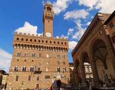 Palazzo Vecchio, Plaza Signoria. Palazzo Vecchio, La Signoria Square