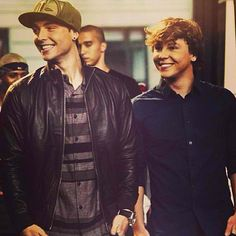 Wesley and Keaton Stromberg #emblem3 #brotherlylove