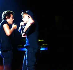 GIF... Their so cute!!!! @Harpreet Singh Styles @Jeff Rubio Payne i love u guys soooo much!!!!! Wish i was right with u guys doing the chickin dance in this pic!! Hahah