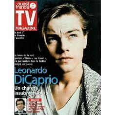 """Leonardo DiCaprio, héros de la nuit spéciale """"Titanic"""" sur Canal+ : Un charme insubmersible !, dans TV Magazine Ouest-France n°16719 du 29/10/1999 [couverture et article mis en vente par Presse-Mémoire]"""