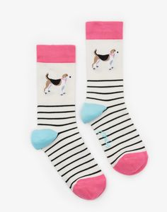 Dog Brillbamboo Bamboo Socks , Size One Size | Joules US