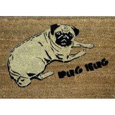 The Pug Rug Doormat
