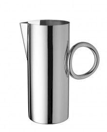 Christofle Silver Vertigo Water Pitcher...fashion metallics!