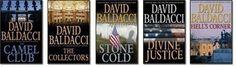 David Baldacci.. The Camel Series.. anything he writes is good!
