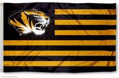 Mizzou Tiger Nation Flag