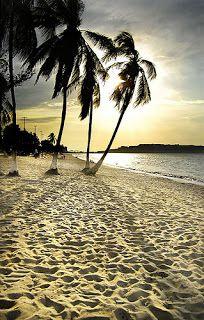 Playa Los Canales en Lecherías Puerto La Cruz Venezuela