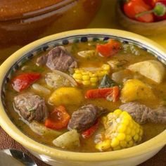 Sancocho .  Food