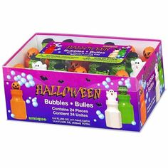 Halloween bubbles 24 pack http://www.wfdenny.co.uk/p/halloween-bubbles/5828/