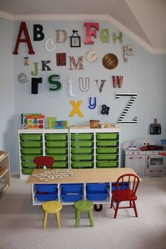 preschool classroom decorating ideas pictures | Preschool Classroom decorating ideas / Montessori Homeschool Room